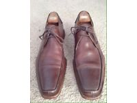 Oliver Sweeney Brown Leather Formal Shoes (SIZE: 10)