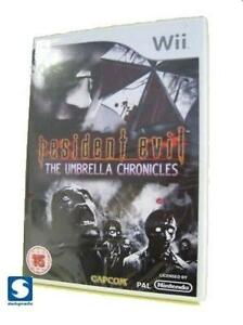Resident Evil The Umbrella Chronicles Wii NEW & SEALED