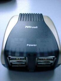 TRUST 4 PORT COMPACT USB 2.0 HUB