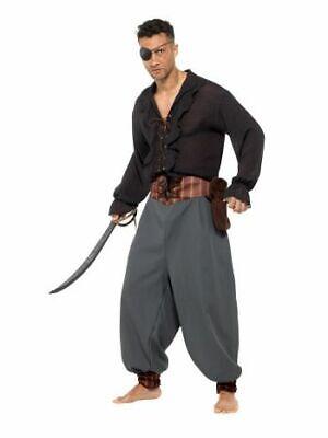 Smi - Herren Kostüm Piratenhose Pirat Karneval - Herren Piraten Kostüm Hose