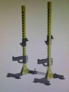 Squat Rack Heavy Duty Free Standing Commercial grade