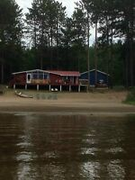 WATERFRONT COTTAGE ON OTTAWA RIVER (DOUBLE LOT)