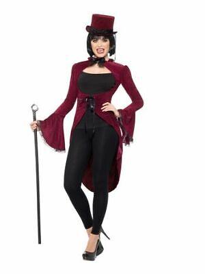 Smi - Damen Kostüm Vampir Steampunk Jacke Gehrock Halloween