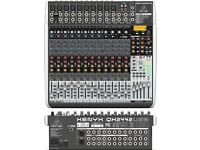 Behringer Xenyx QX2442USB Mixing Console & Flight Case with lock