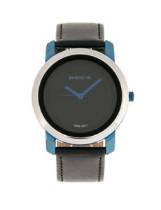 Rousseau the 20003A Leather Band Watch - Blue