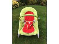 Mothercare/Orb Travel Bouncer - Excellent Condition
