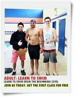 Adult swimming lessons in North York
