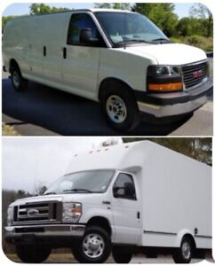 TO PURCHASE; GM CHEVY FORD CARGO or UNICELL CUTAWAY CUBE BOX VAN