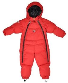 Red Lindberg winter snowsuit - size 80