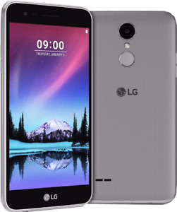 LG K4 with charger
