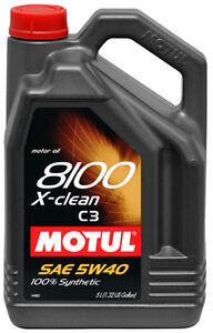 MOTUL ENGINE OIL SAE 5W40 %100 SYNTHETIC 5 L ON SALE !!
