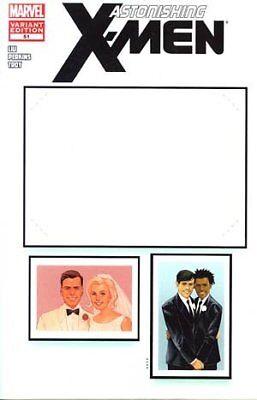 Marvel Comic Create Your Own Superhero (ASTONISHING X-MEN #51 CREATE YOUR OWN WEDDING VARIANT MARVEL  NM 1st)