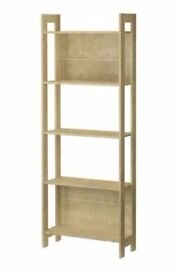 Two IKEA bookshelves - built and in very good condition. CLAPHAM/ BALHAM