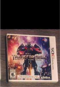 Transformers 3DS and 2 DS games