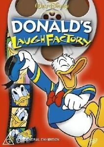 DONALDS-039-S-LAUGH-FACTORY-Donald-Duck-walt-disney-NEW-DVD-Region-4-Australia