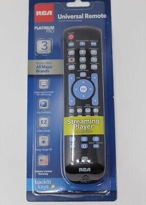 RCA RCRN03BR Universal Remote Control - For TV  Satellite Bo