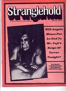 "WANTED: TORONTO ""STRANGLEHOLD"" WRESTLING PROGRAMS -1979-1984"