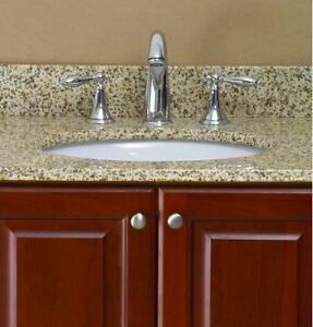 "Clearance bathroom vanity Granite tops 37""  25"""