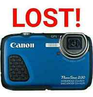 Lost blue Canon D30-Centennial Beach near 3rd Ave access Jul 30