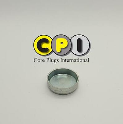 Car Parts - 25mm Cup type core plug - CR4 Zinc Plating - British Steel BS1449