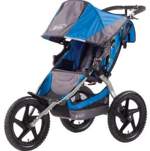 BOB Runner Stroller Barely Used (Blue)