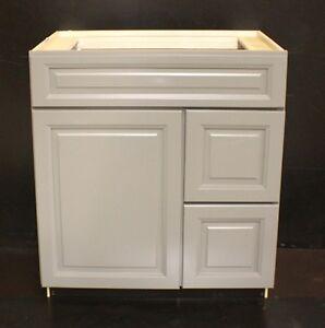 kraftmaid maple bathroom vanity sink base cabinet 30 034 granite tops