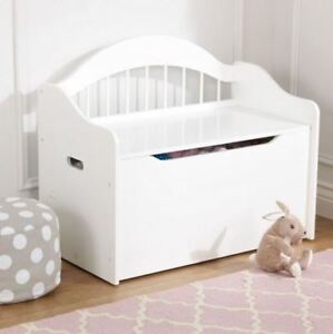 KidKraft Limited Edition Toy Box - White (can be personalized)