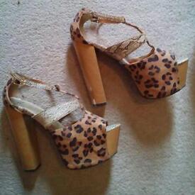 Asos platform heels size6