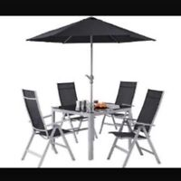 4-6 seated patio set