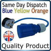 Blue Electrical Plug