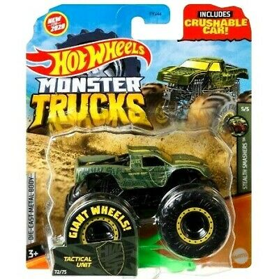 *NEW* 2020 Hot Wheels Monster Trucks - TACTICAL UNIT 72/75 Giant Jam 1:64 Truck