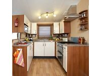 2011Willerby salisbury, 3 bed central heating, d/glazing,