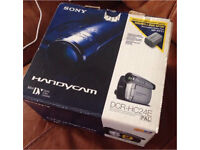 Sony DCR-HC24E Handycam Camcorder Boxed Used Once Great Working Condition RRP £199.98