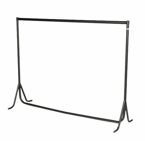 NEW 3Ft. LONG ALL METAL HEAVY-DUTY COMMERCIAL RETAIL CLOTHES DISPLAY SHOP GARMENT DRESS RAIL STAND