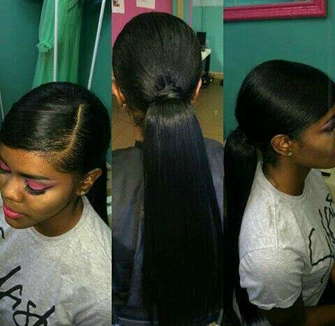 Weave Ponytail Or Ponytail With Expression Bun Styles Etc From 30