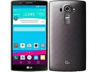 LG G4 black H815 Hexacore 32GB Unlocked