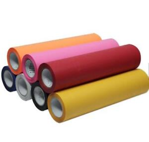 Heat Transfer Vinyl - 8 Colors Available SALE! Only $10/Yard. BUY IN BULK AND SAVE EVEN MORE
