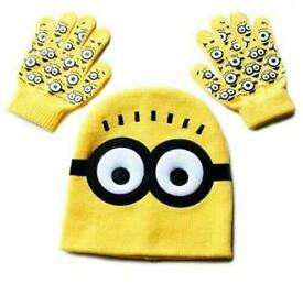 New Minion hats and gloves
