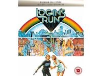 Logan's Run - Blu-Ray + DVD Special Edition with Art cards, NEW!