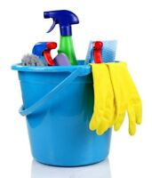 Do You Need a Move Out or General Cleaner? $20/HR