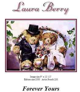 """Laura Berry Framed Print """"Forever Yours"""""""