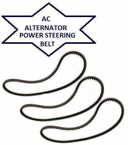 FOR MITSUBISHI DELICA 2.8TD TD ALTERNATOR AC AIR CONDITION POWER STEERING BELT