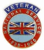 National Service Badge