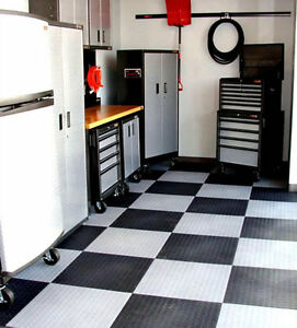 G-FiT. Garage Floor Interlock Tile Edmonton Edmonton Area image 1