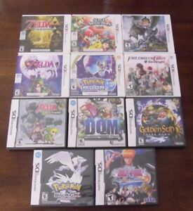 3ds and Ds Games