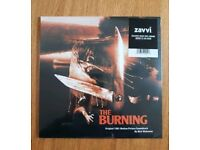 THE BURNING - Limited Edition Vinyl Soundtrack -BRAND NEW