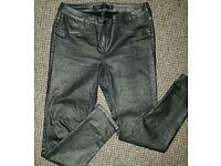 Next Petite 12 Metallic Jeans