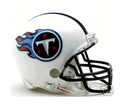 (TENNESSEE TITANS NFL REPLICA FOOTBALL MINI HELMET)