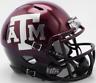 TEXAS A&M AGGIES Riddell Revolution SPEED Mini Football Helmet NCAA