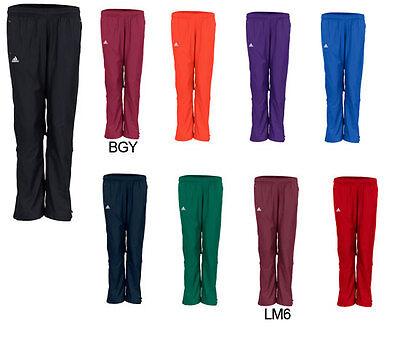 NEW Adidas WOMENS WOVEN W/U PANT BURGUNDY Track Pants Bottoms XL TALL TEAM XLT